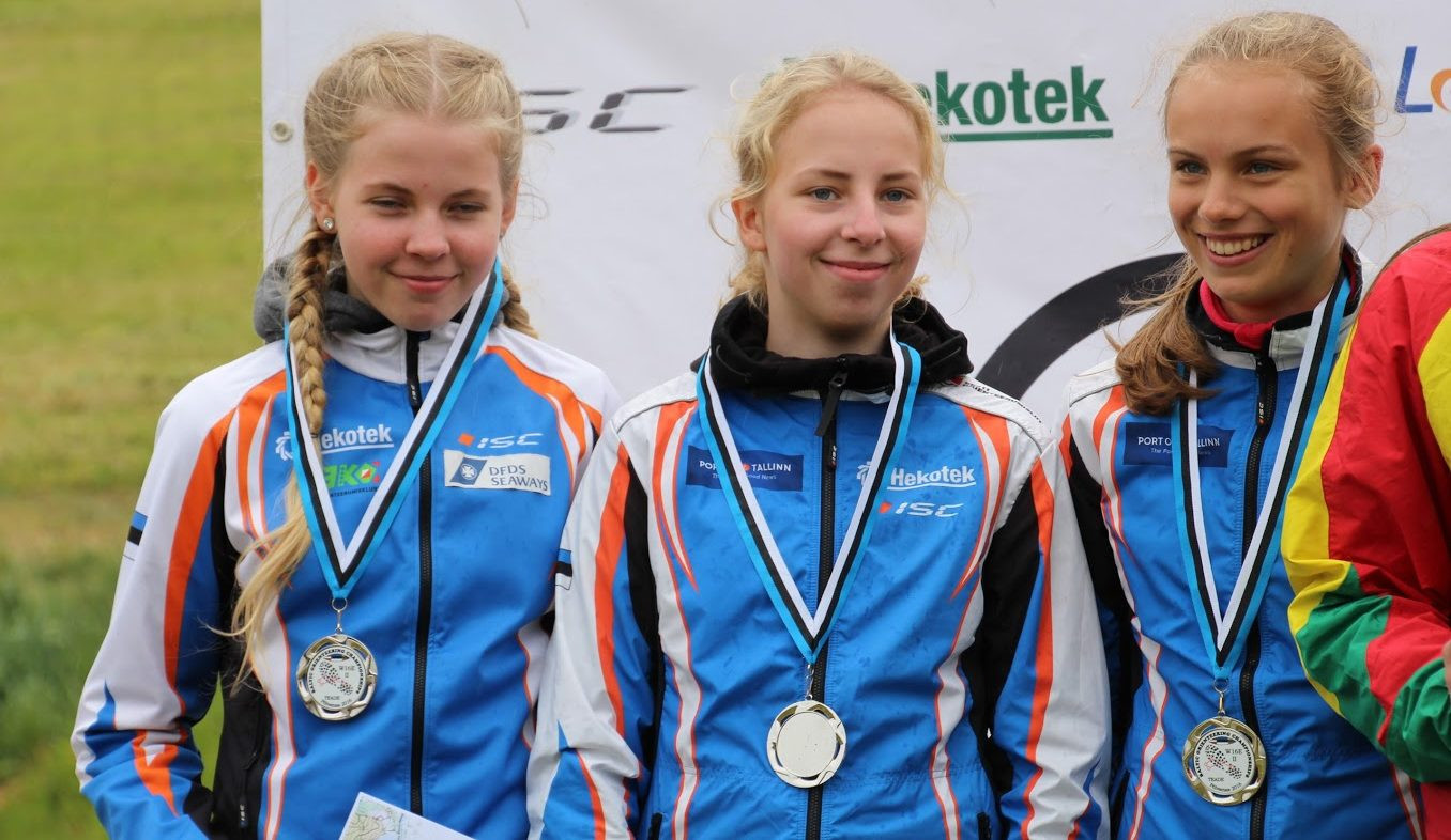 Kelli, Laura-liis ja Teele Telgma